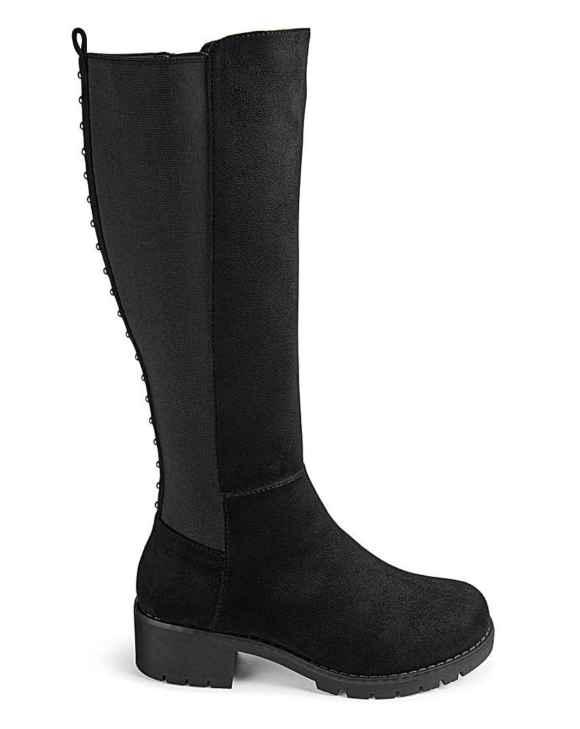 Simply Be Lainey Extra Wide Fit Standard Calf