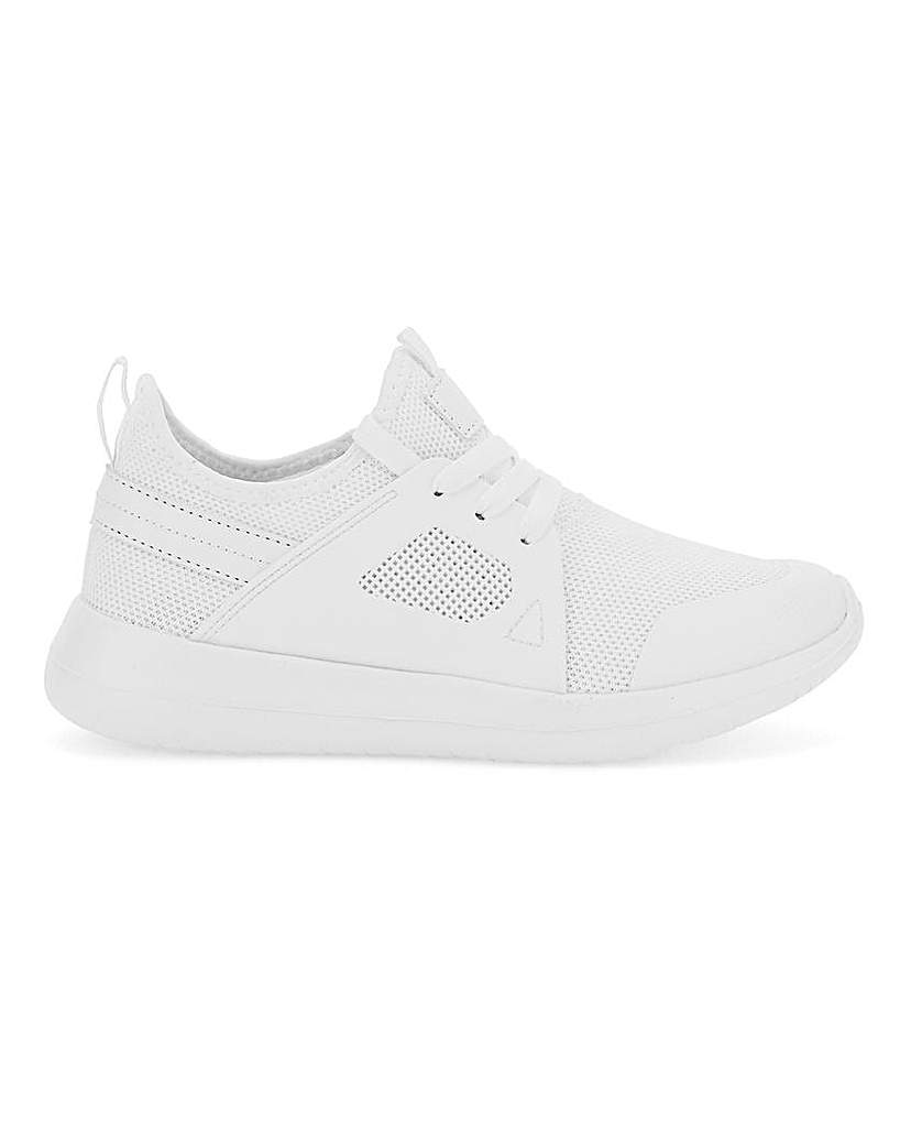 Simply Be Cardi Sporty Trainer Wide Fit