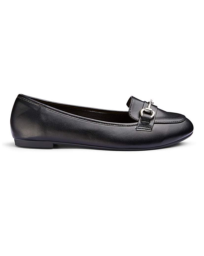 Simply Be Gianna Loafer Wide Fit