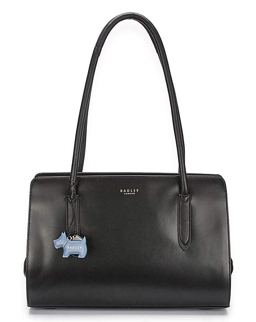 Radley Black Medium Zip Tote Bag