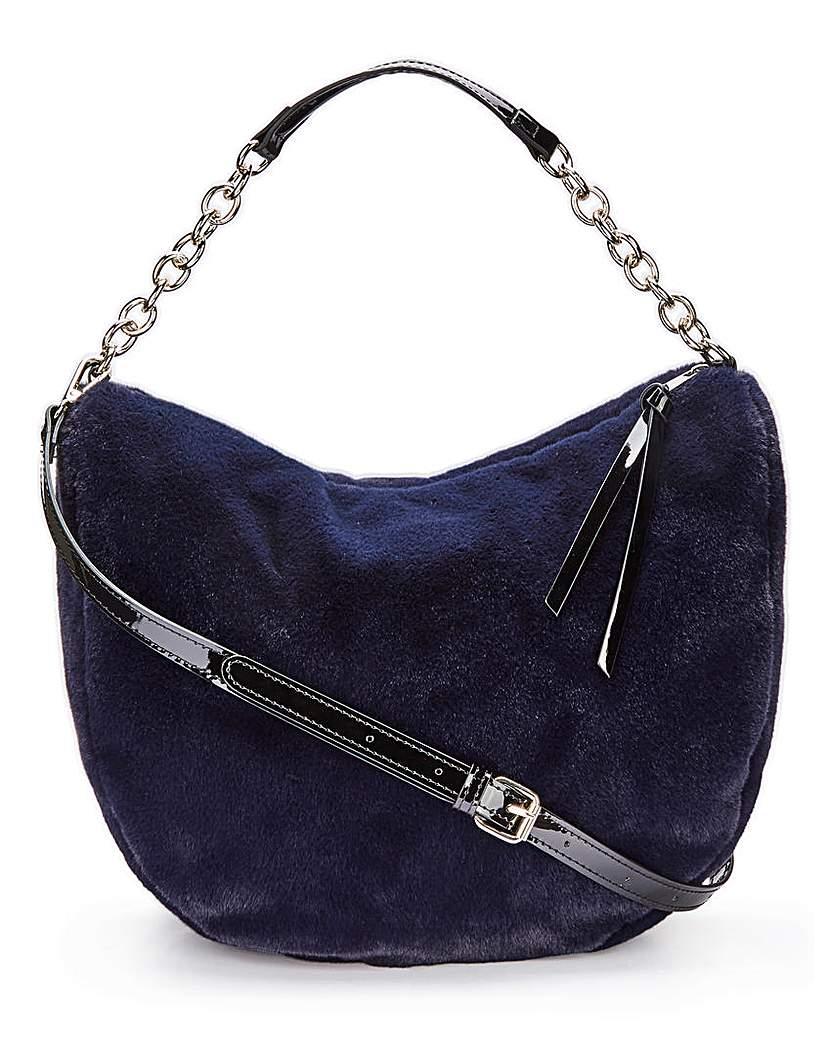 Simply Be Faux Fur Bag