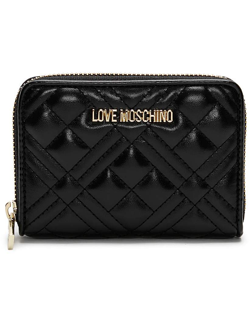 Love Moschino Love Moschino Quilted Coin Purse