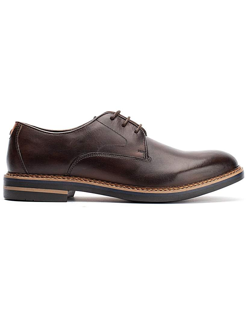 Base London Base London Wayne Burnished Lace Up Shoe