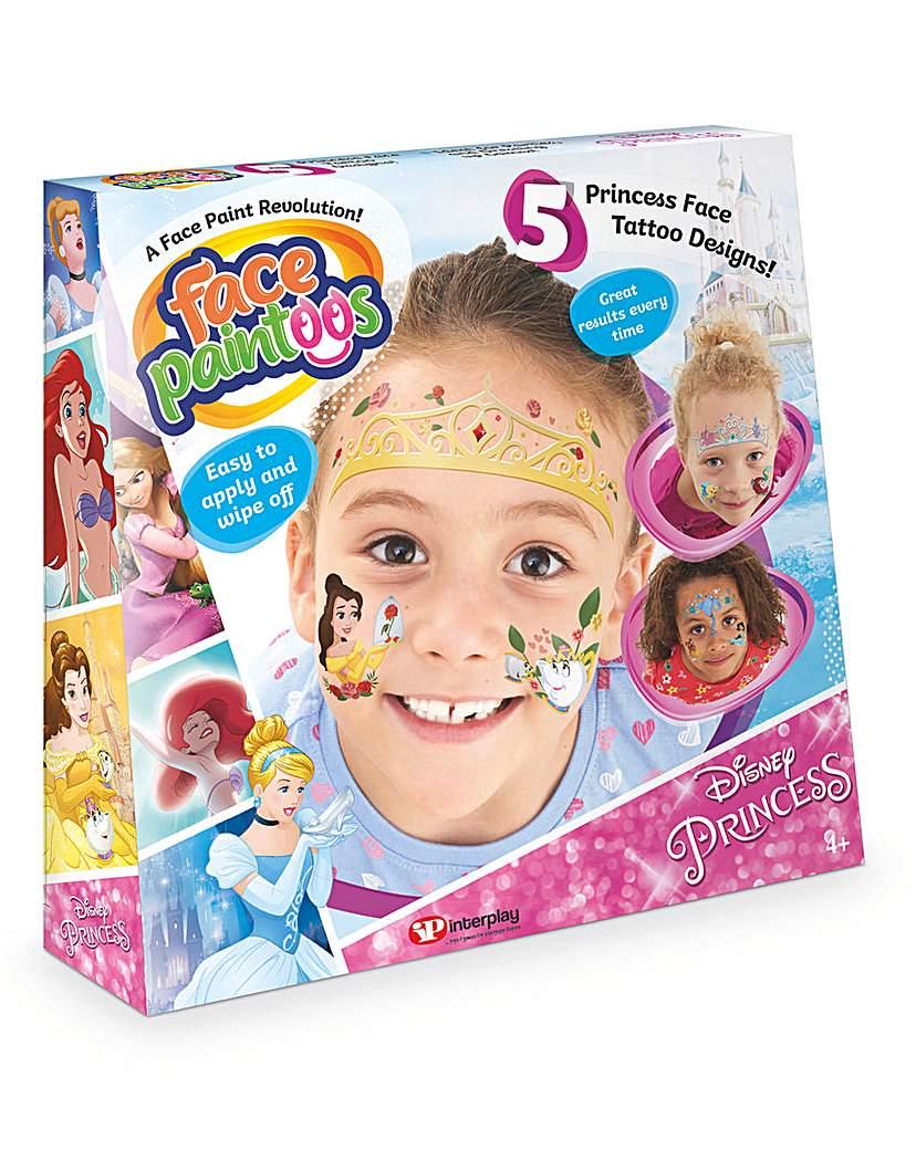 face paintoo disney princess