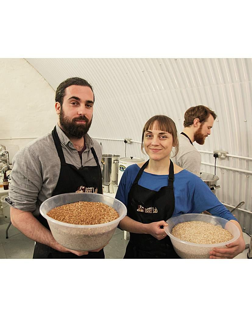 Image of Beer Making & Tasting at London Beer Lab