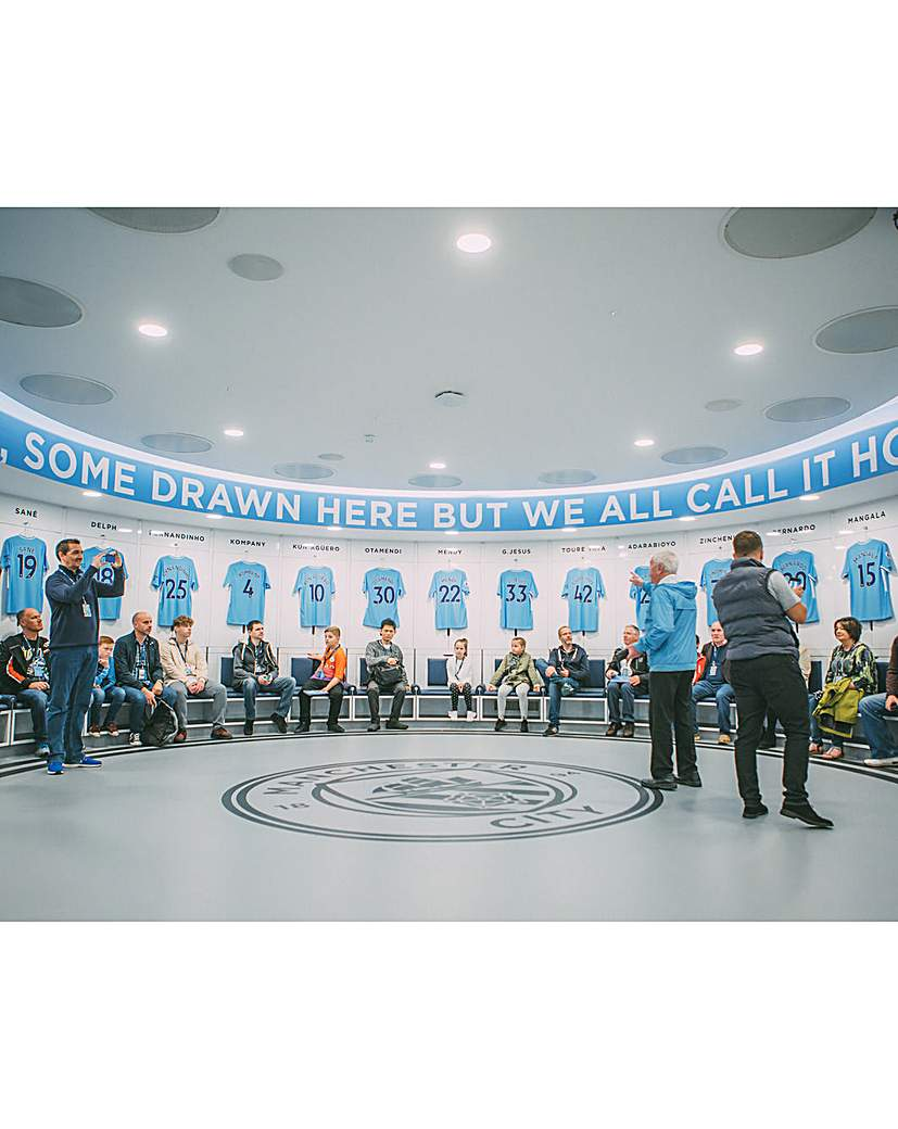 Image of Man City Stadium & Academy Tour for Two