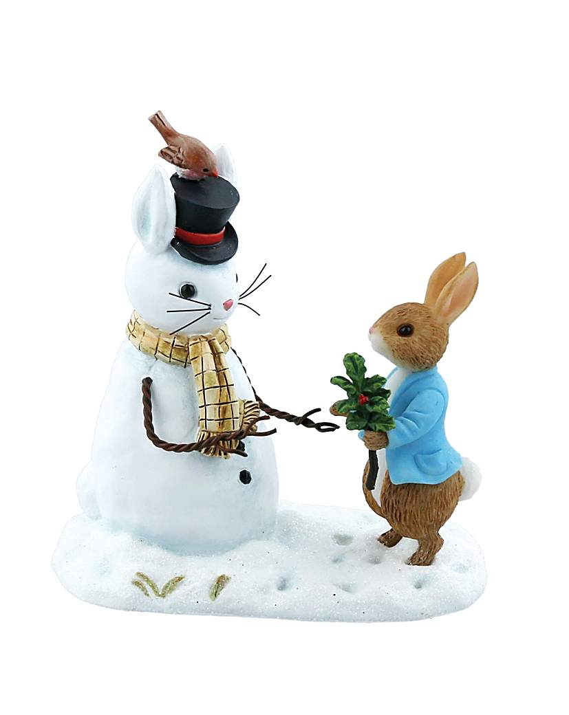 Beatrix Potter Peter Rabbit &Snow Rabbit