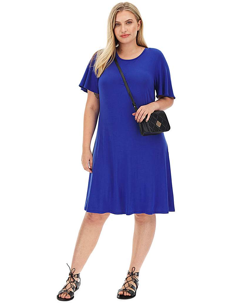 Capsule Short Sleeve Swing Dress