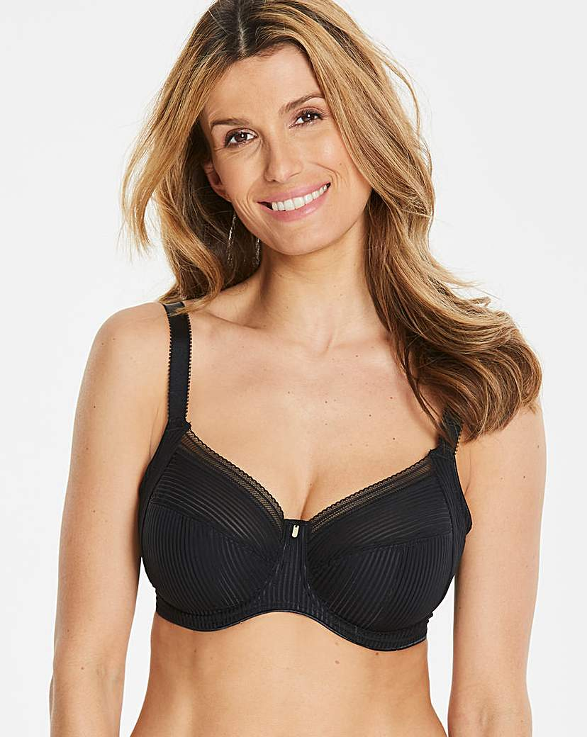 Image of Fantasie Fusion Full Cup Wired Black Bra