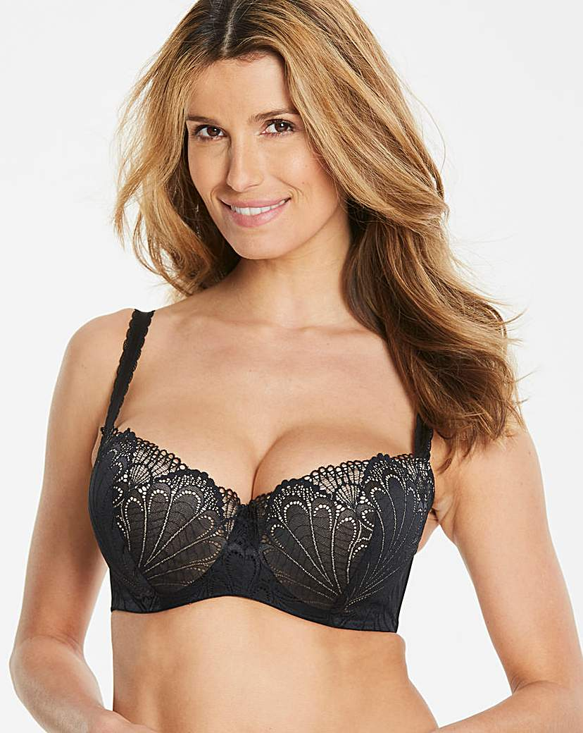 Image of Wonderbra Refined Balcony Bra Black