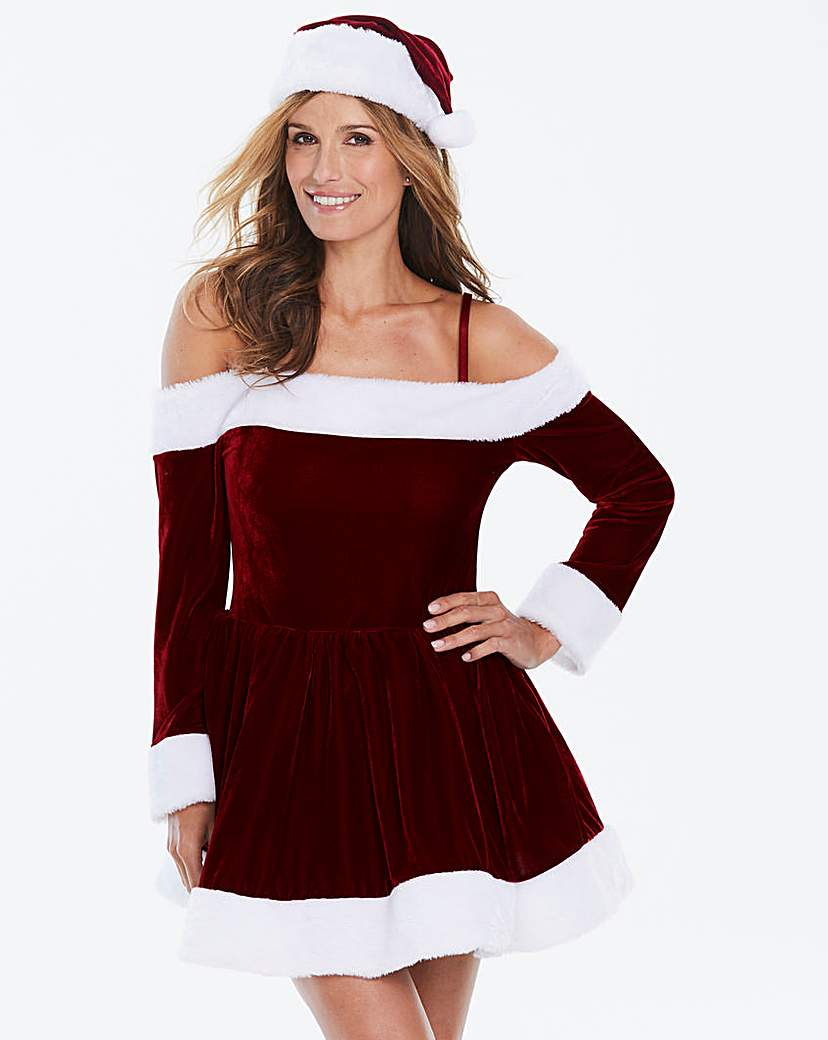 Ann Summers Sexy Miss Santa Dress Set