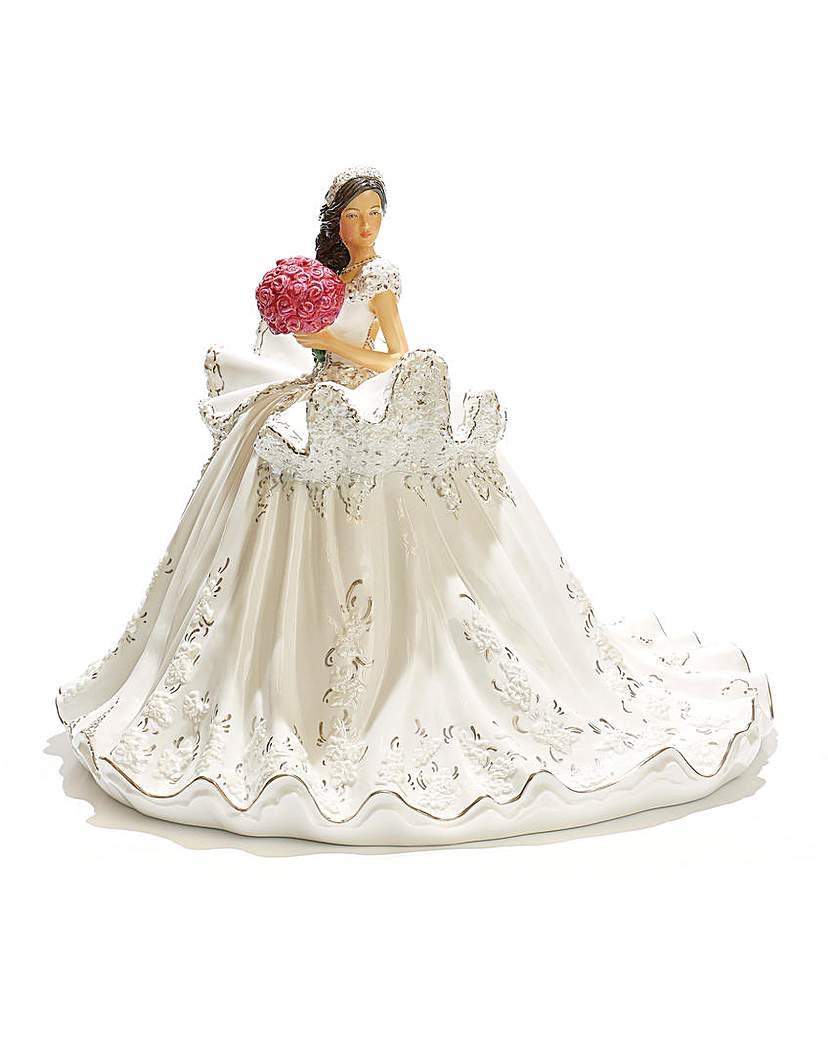 Image of Gypsy Elegance Wedding Figurine - Brown