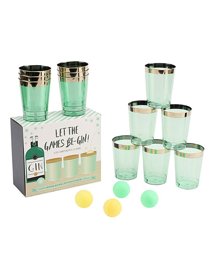 Image of Let The Games Be-Gin Drinking Game
