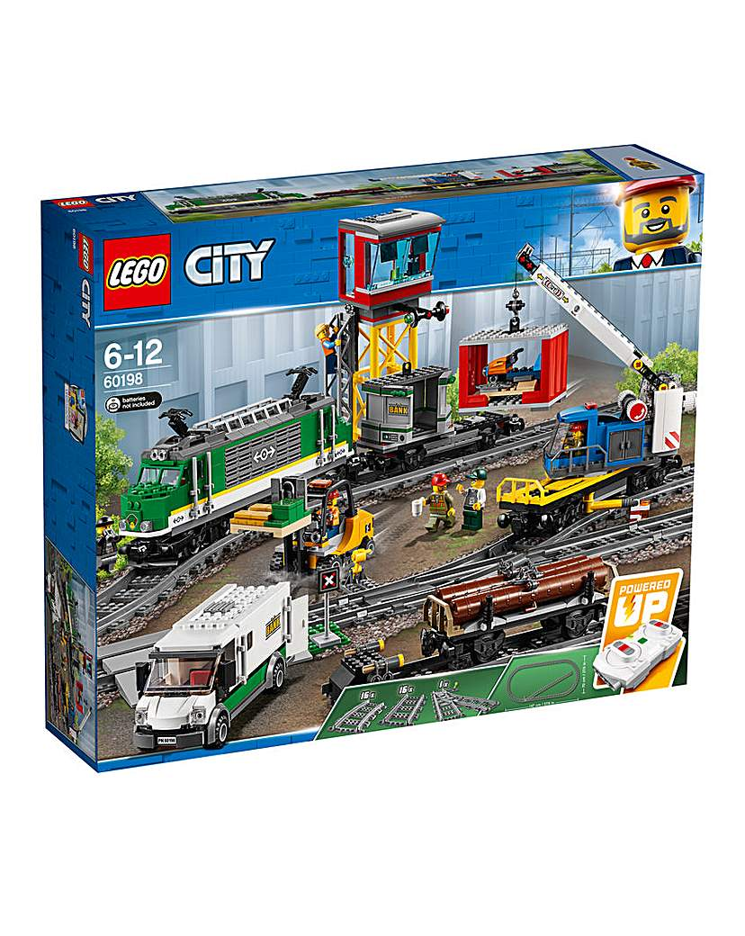 Image of LEGO City Trains Cargo Train