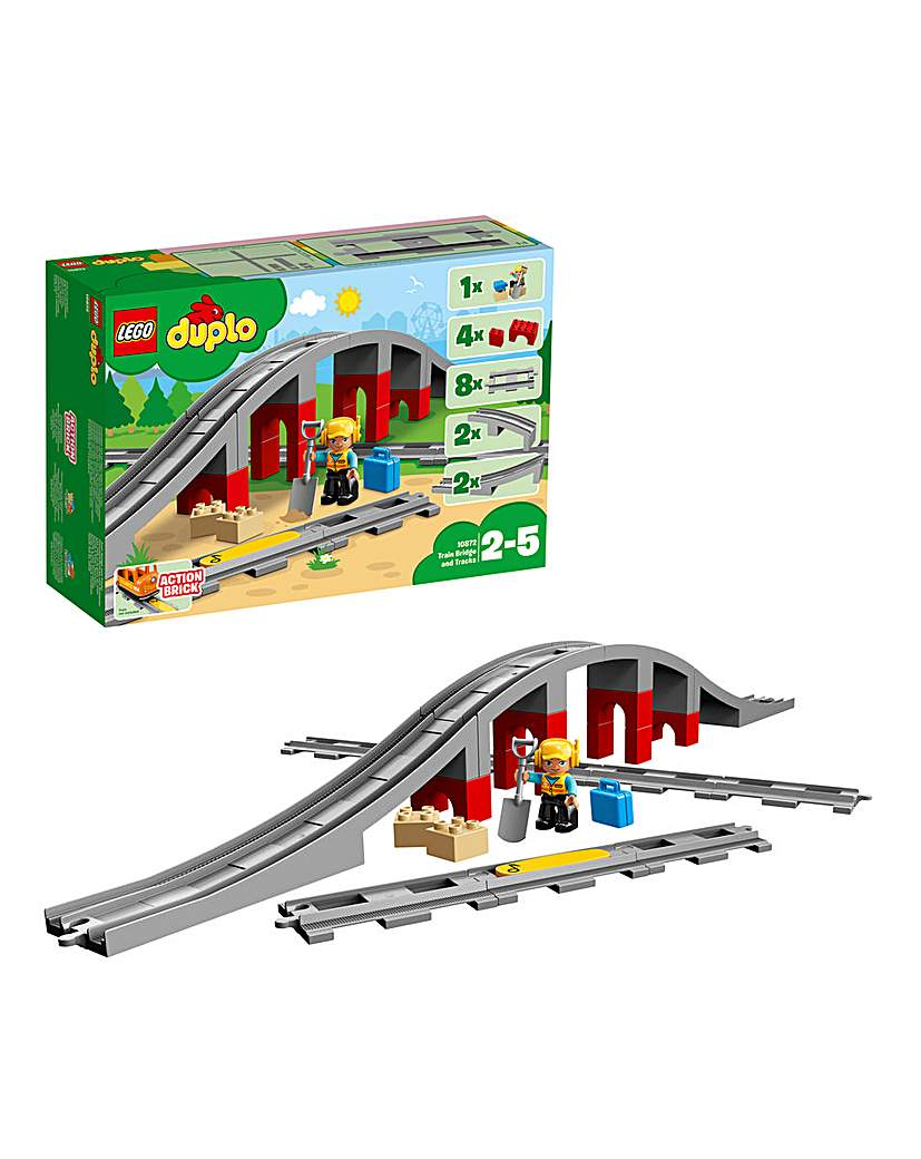 LEGO Duplo Train Bridge and Tracks