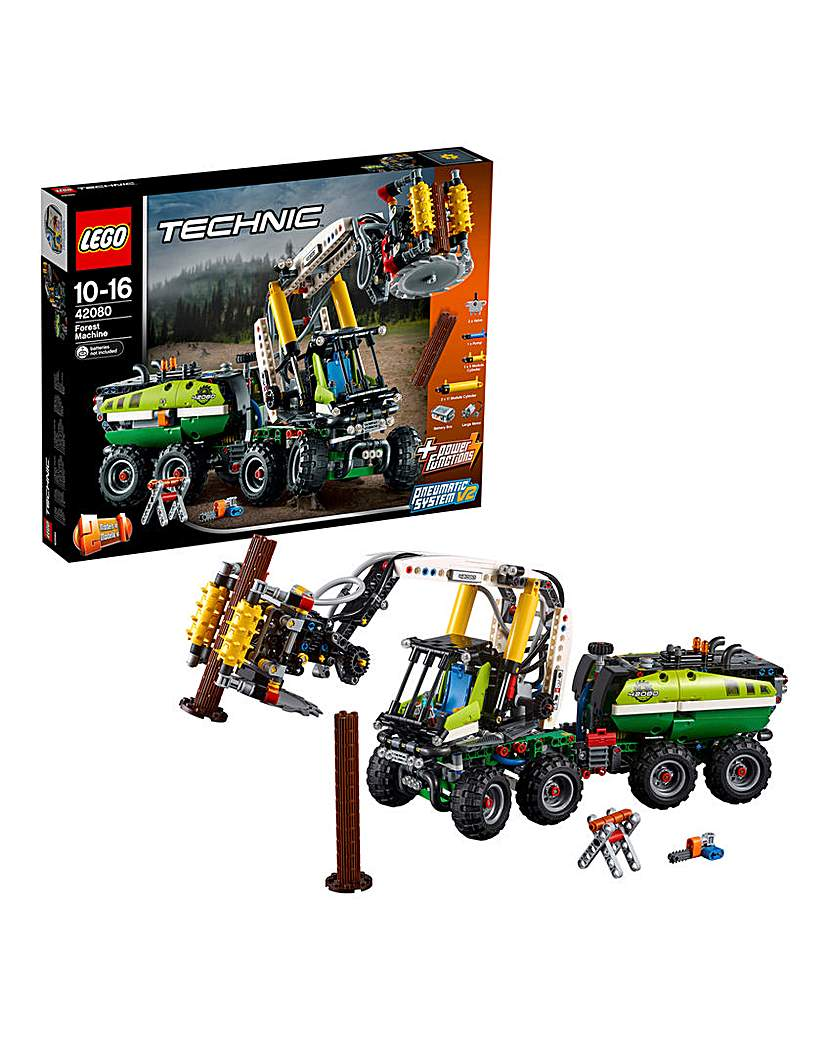 LEGO Technic Forest Machine