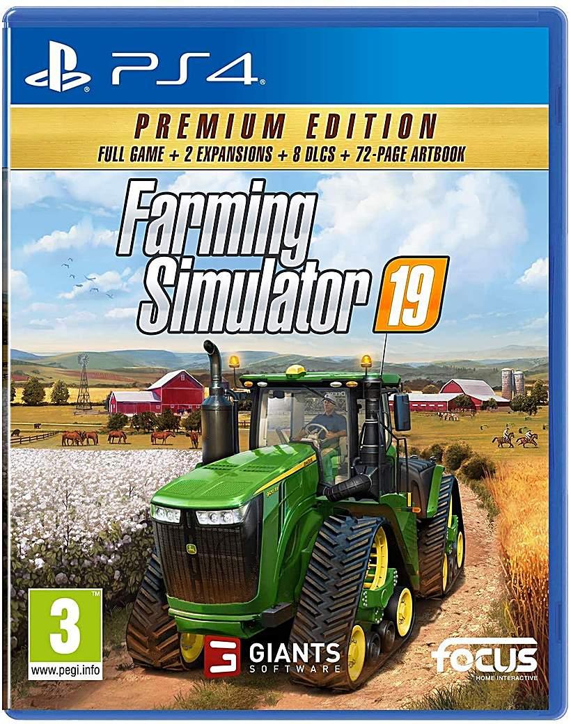Farming Simulator 19 Premium Edition PS4