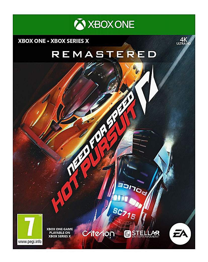 Need for Speed Hot Pursuit Xbox One
