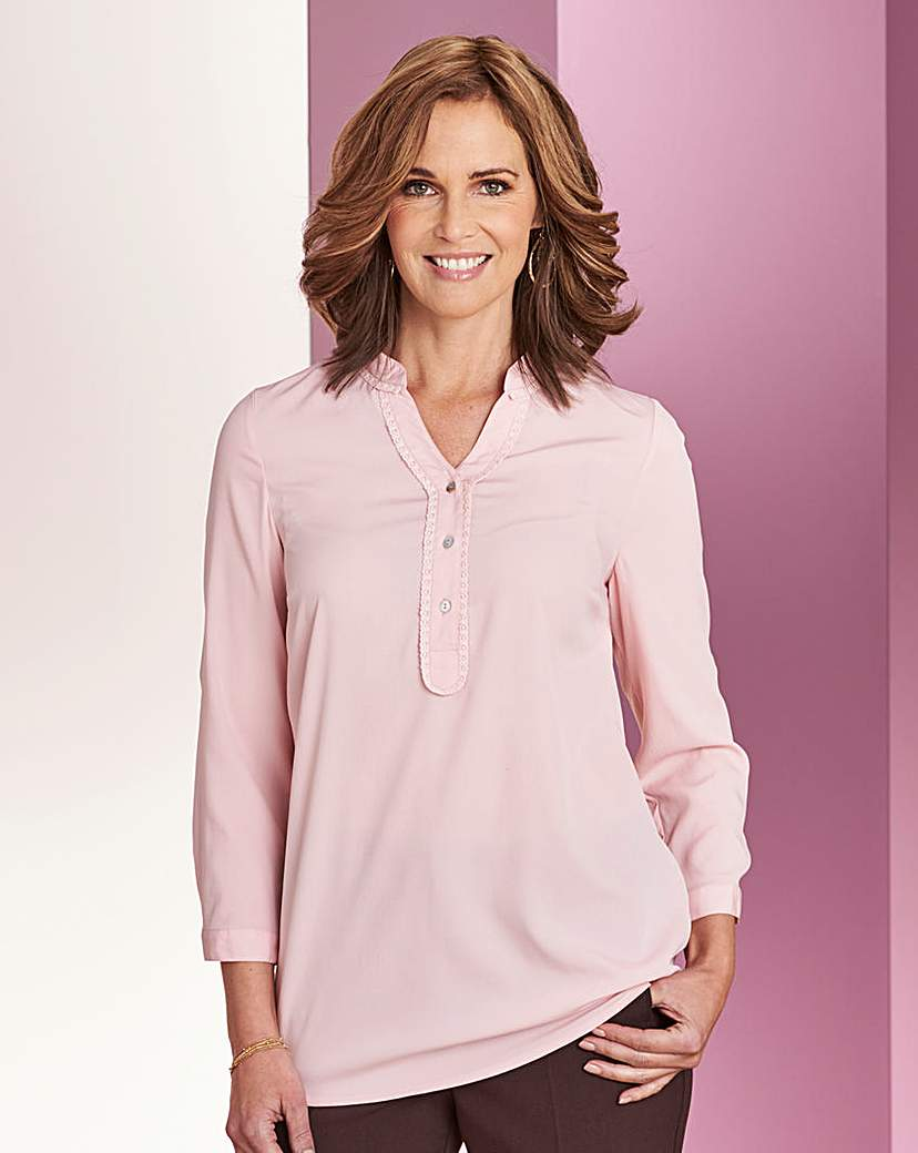 Pale Pink Slimma Blouse