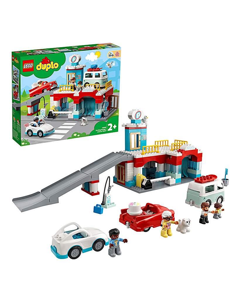 LEGO Duplo Parking Car Park and Car Wash