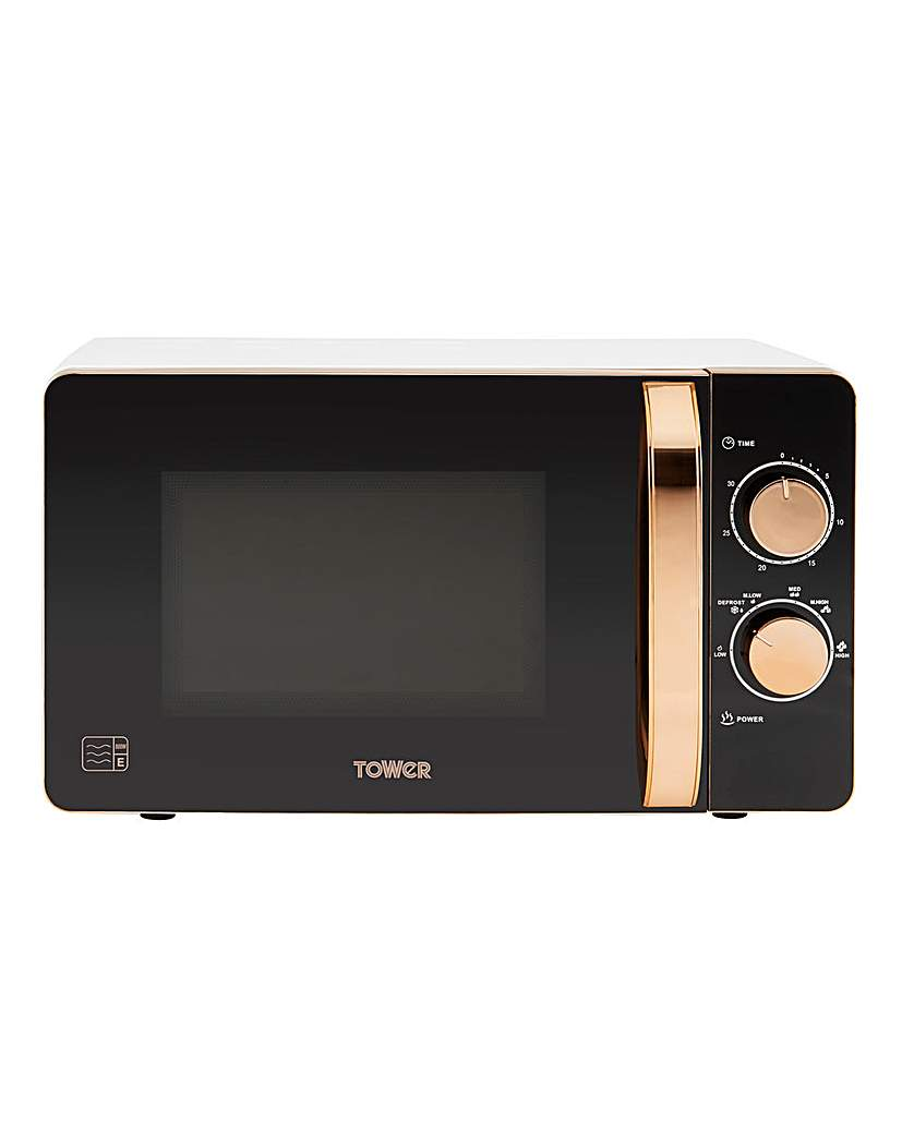 Tower T24020W 20L Manual Microwave