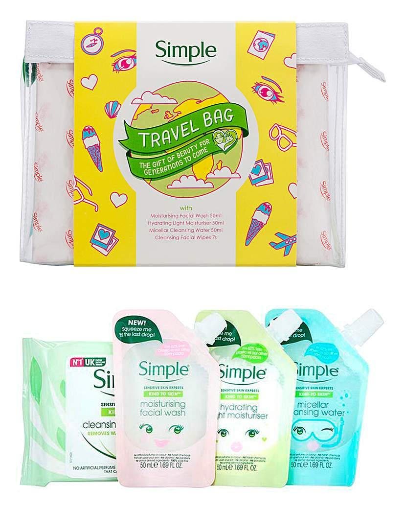 Simple Simple Travel Kit Gift Set