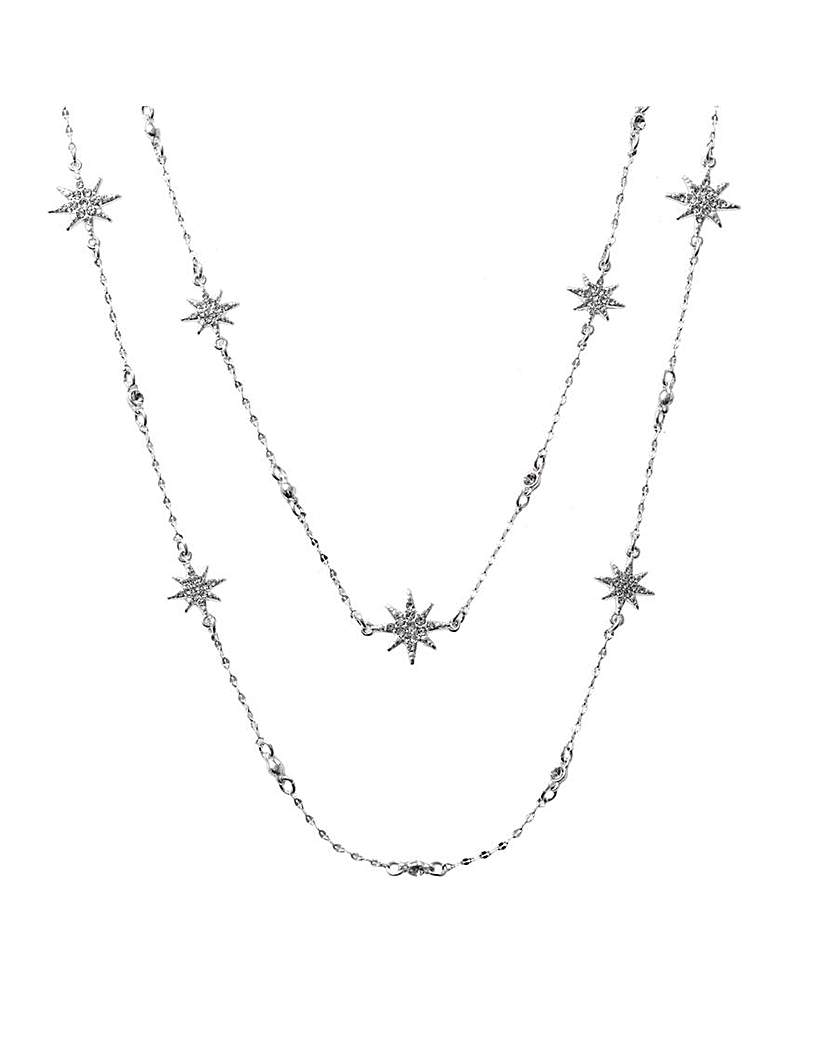 MOOD Celestial Star Multirow Necklace