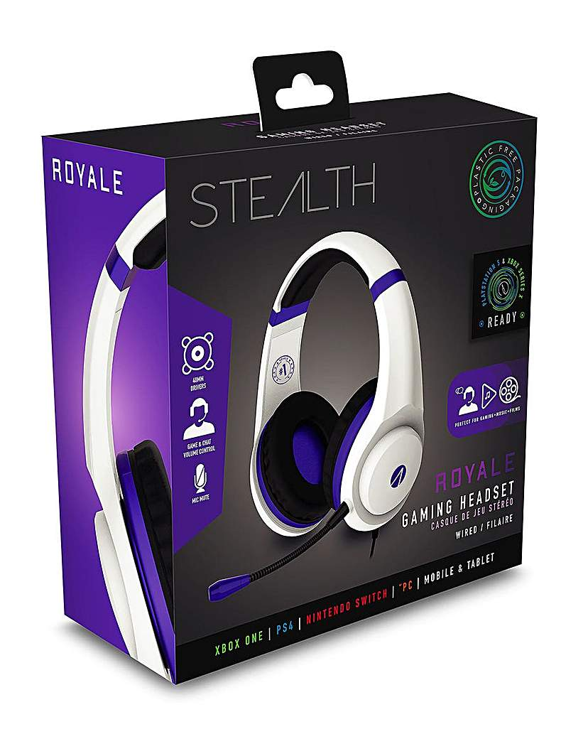 Stealth XP-Royale Stereo Headset PS4