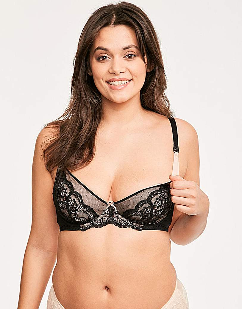 Image of Figleaves Flexi Wire Nursing Bra