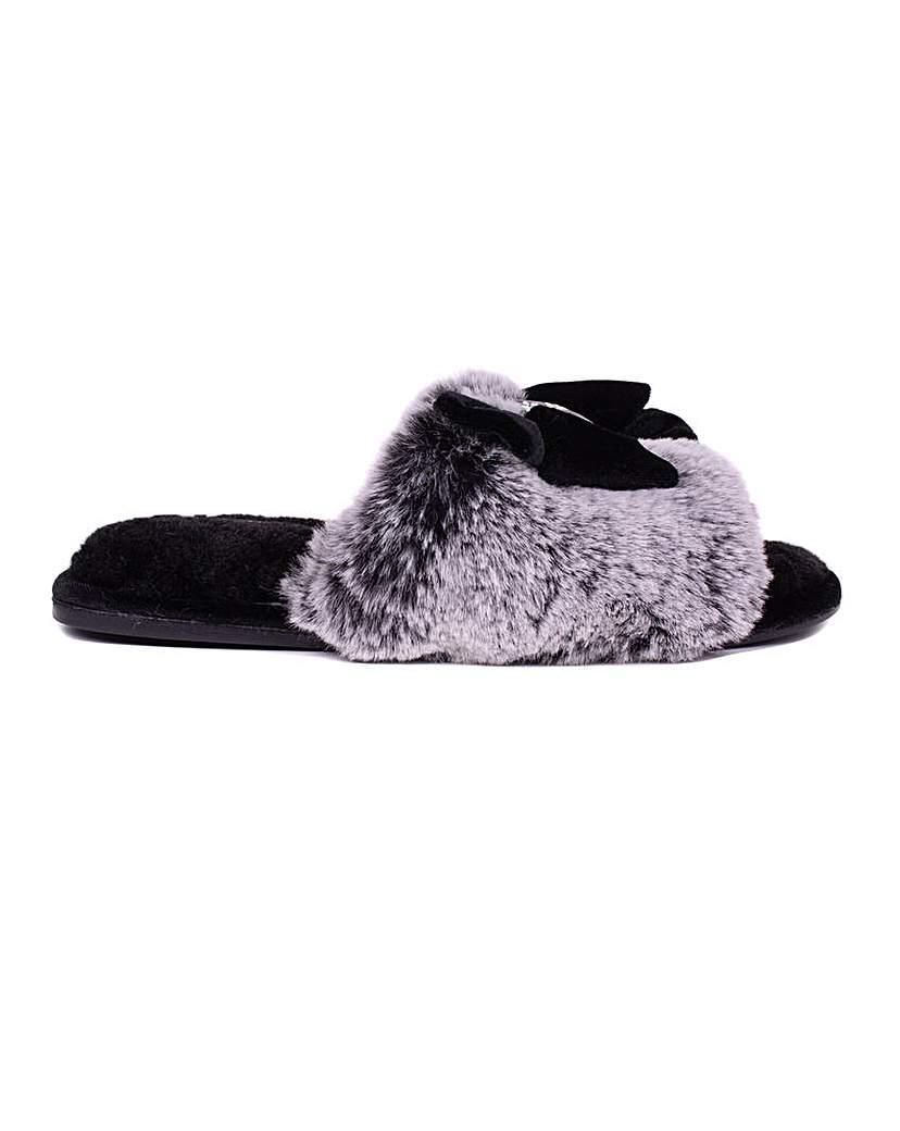 Pretty You London Cleo Slider Slippers