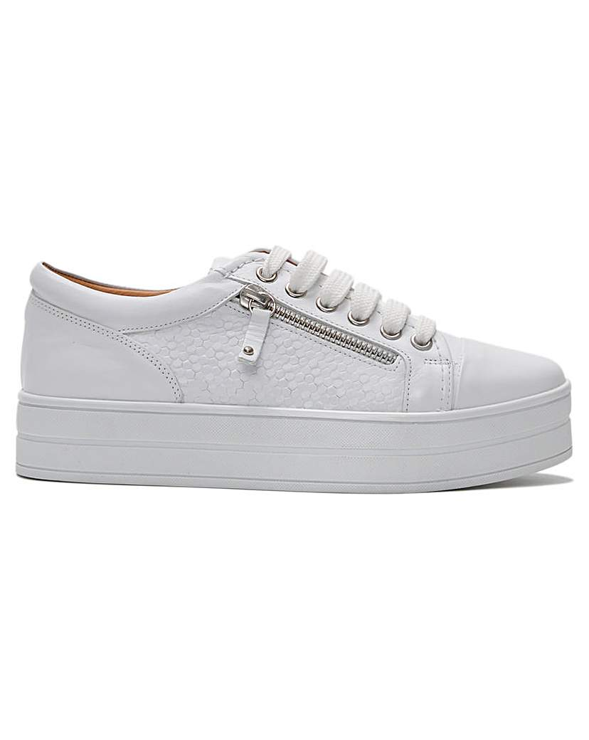 DF By Daniel Fancee Leather Trainers