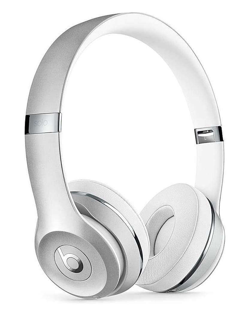 Beats Solo 3 Headphones Silver