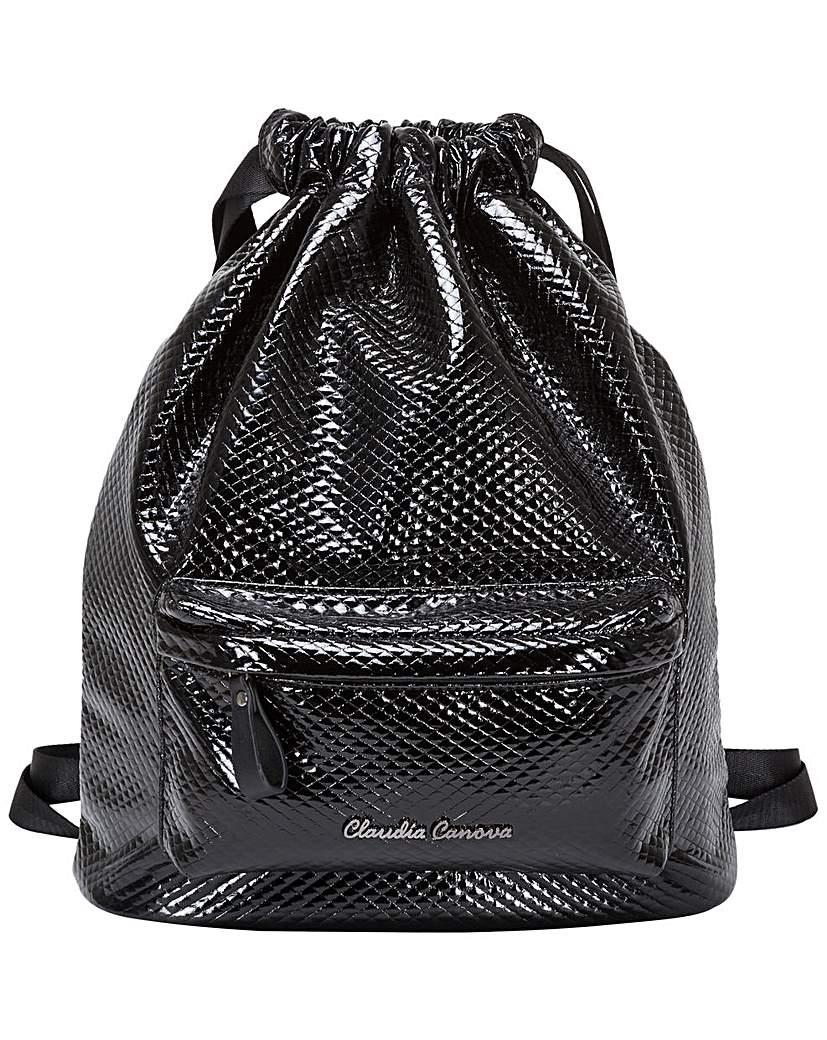 Claudia Canova Claudia Canova Estelle Drawtop Backpack