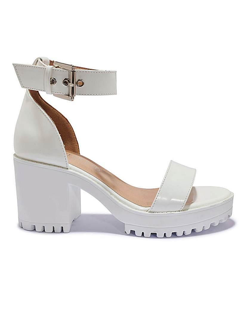 Simply Be Chunky Sole Sandal Standard Fit