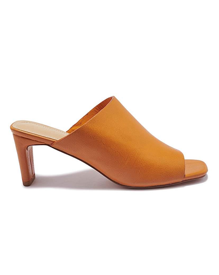Simply Be Slim Heel Mule Standard Fit