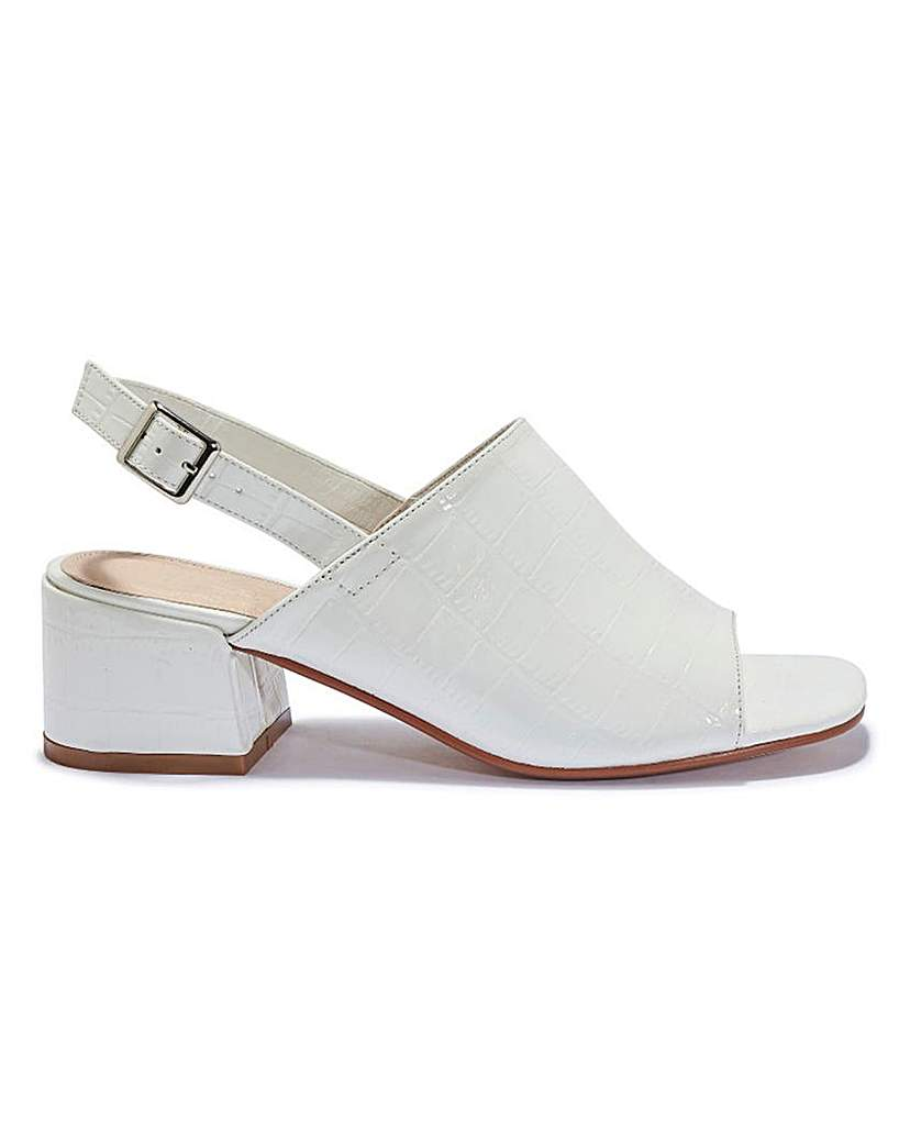 Simply Be Ankle Strap Mule Standard Fit