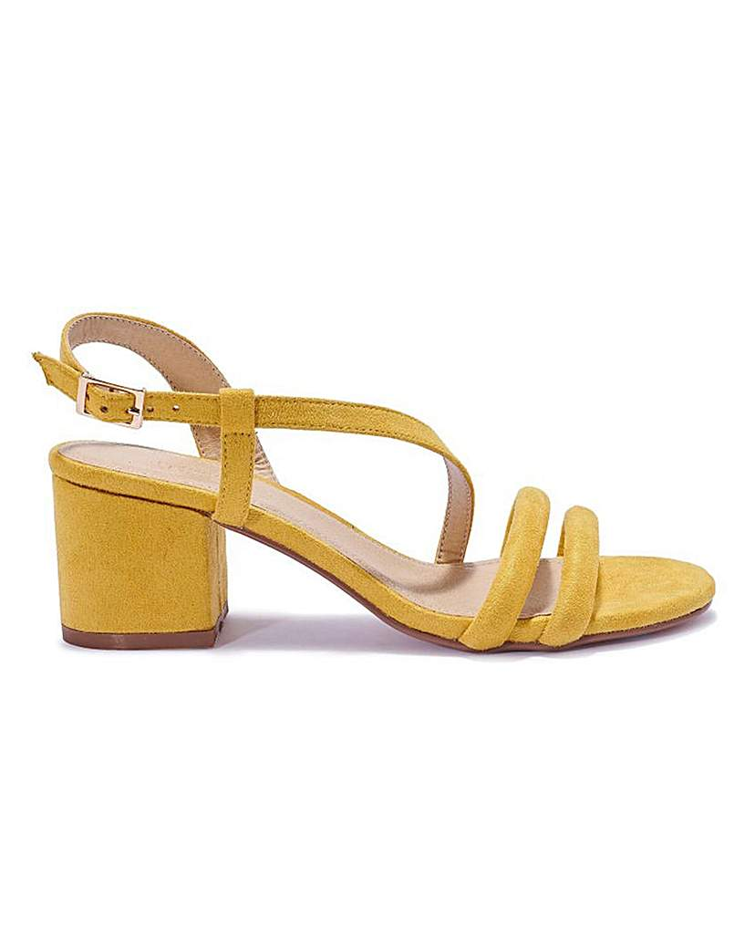 Simply Be Asymmetric Sandal Standard Fit