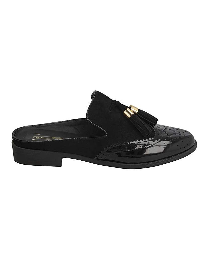 Simply Be Slip On Tassel Loafers Standard Fit