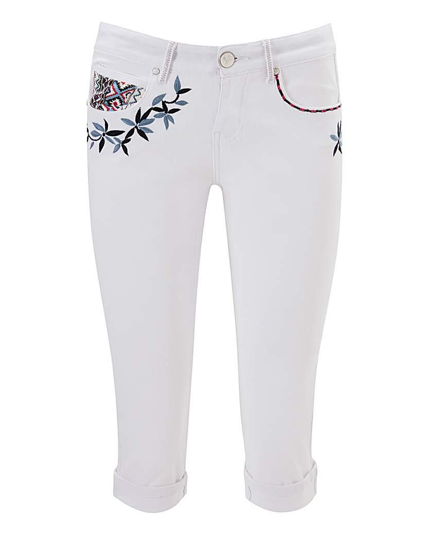 Image of Joe Browns Funky Crop Trousers