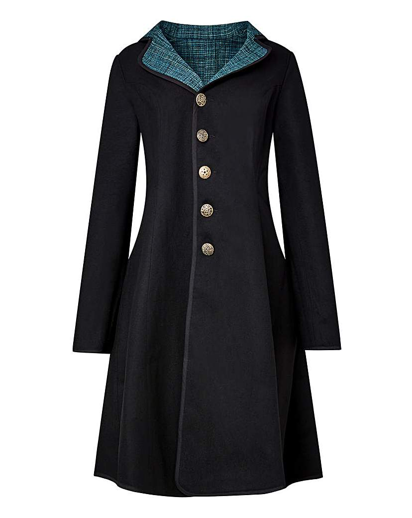 Vintage Coats & Jackets | Retro Coats and Jackets Joe Browns Amazing Reversible Coat £110.00 AT vintagedancer.com