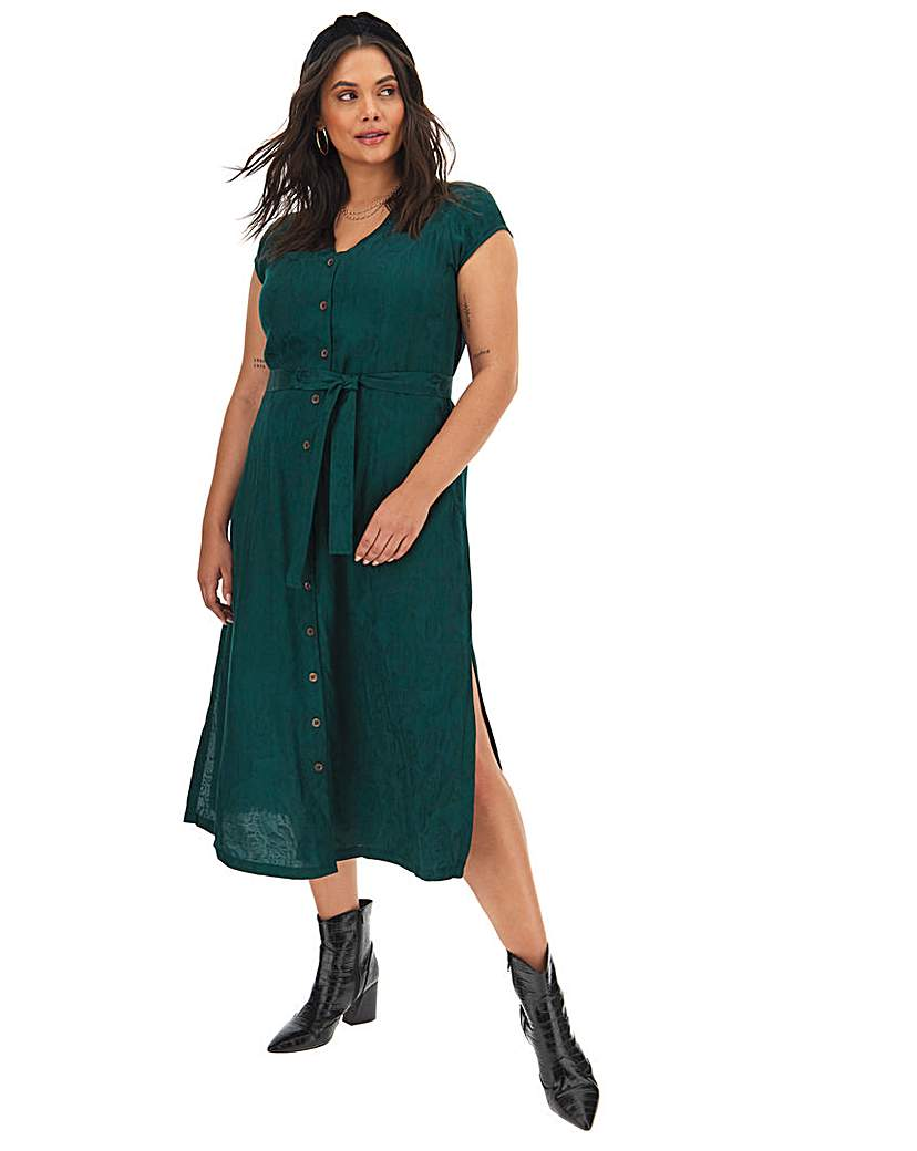 Simply Be Joe Browns Rich Jacqaurd Dress