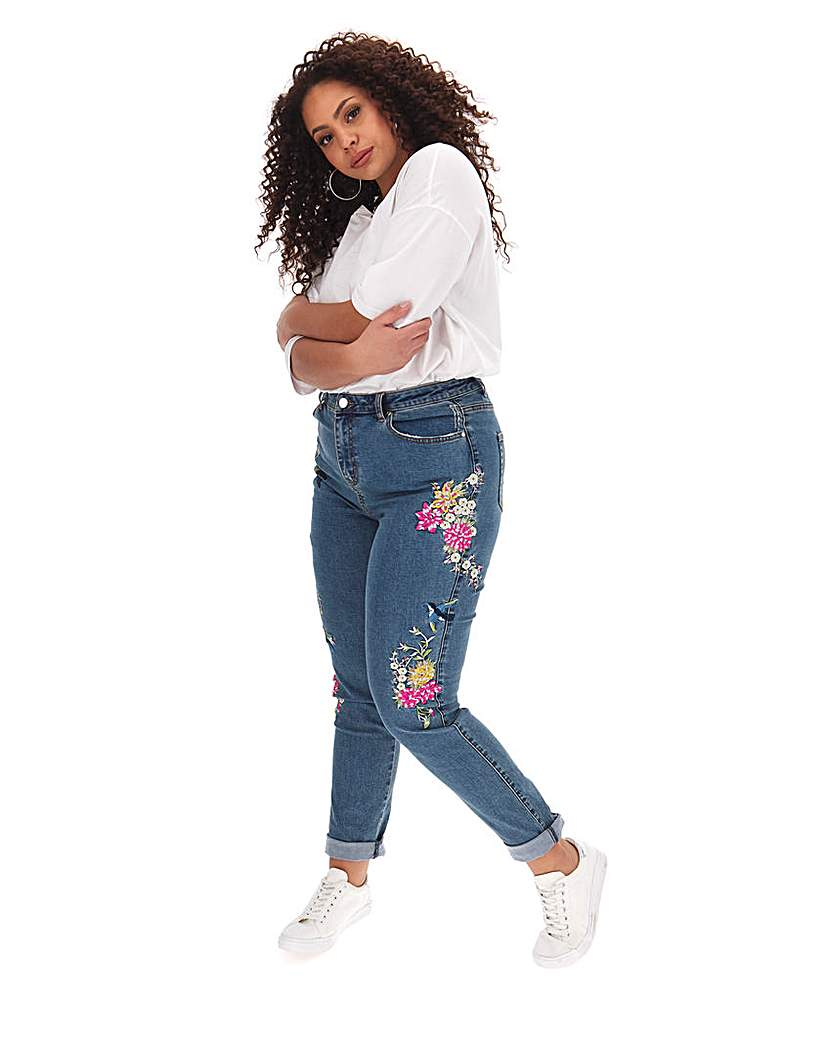 Simply Be Joe Browns Embroidered Jean