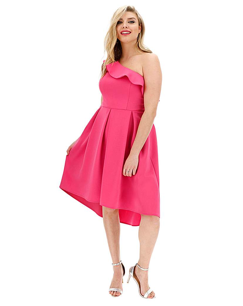 Chi Chi London Chi Chi London Asymmetric Dress