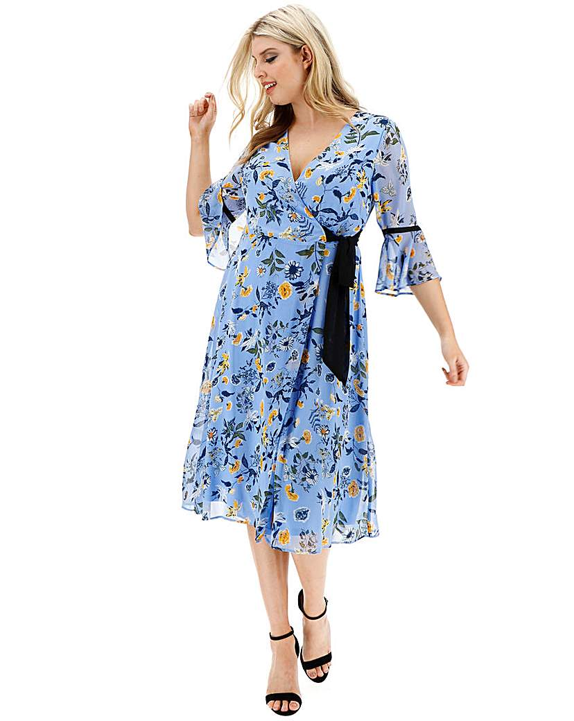 Lovedrobe Ditsy Floral Wrap Dress