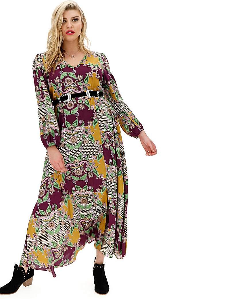 Glamorous Boho Printed Maxi Dress
