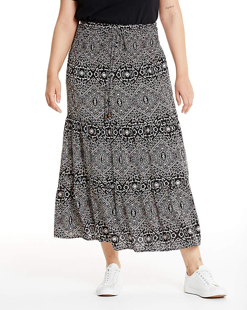 Apricot 2-In-1 Skirt Dress