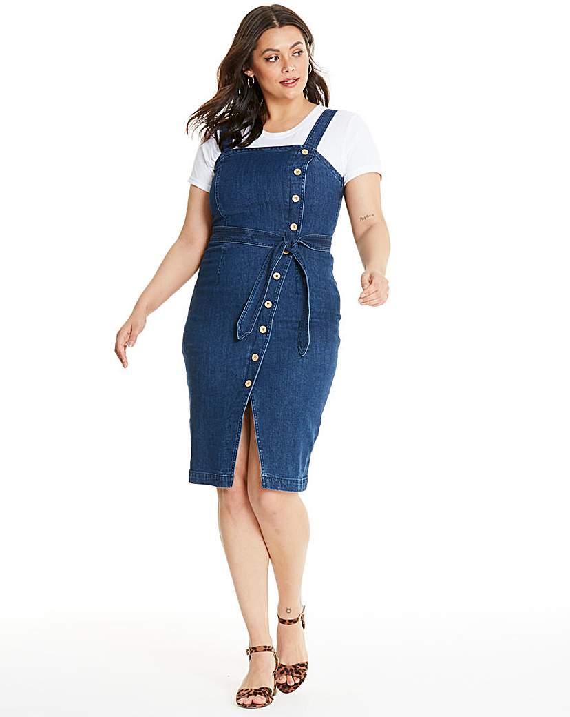 Vero Moda Button Up Denim Dress