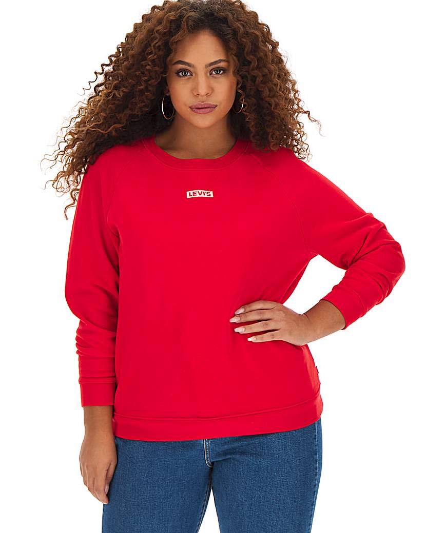 Levi's Relaxed Graphic Crew Neck Jumper