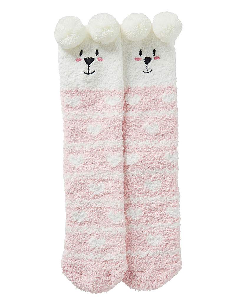 1 Pack Winter Character Cosy Socks