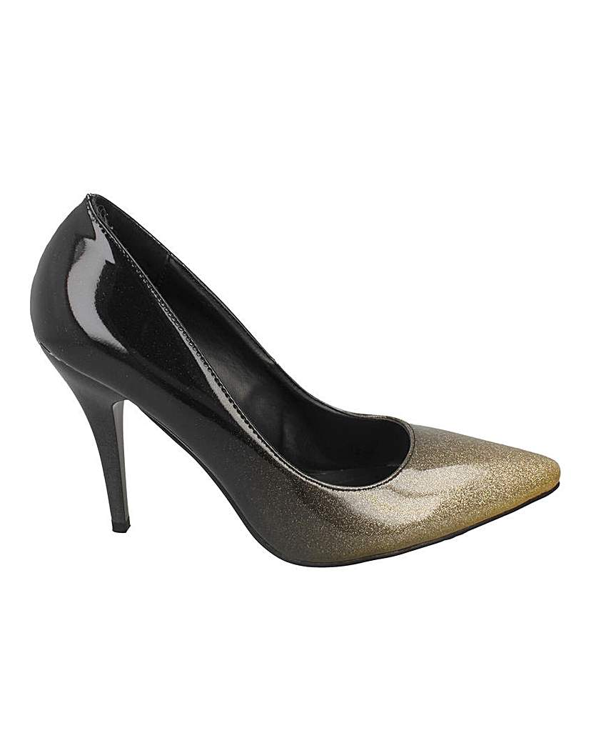 Simply Be Ombre Court Shoe Standard Fit
